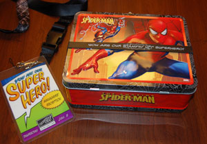 Spidermanlunchbox