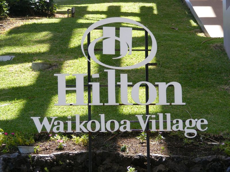Waikola Village sign