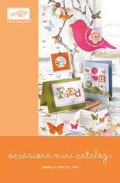 Spring occasions mini catalog icon