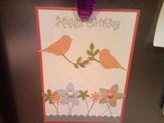 Bird Punch Birthday Card - Susan Hollingsworth
