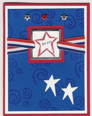 Sergio - patriotic card