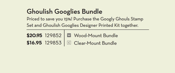 Ghoulish Googlies Bundle