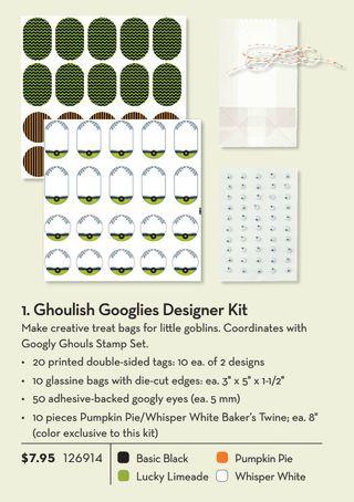 Googlies designer kit