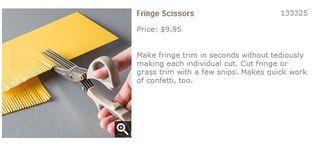 Fringe Scissors   Stampin  Up
