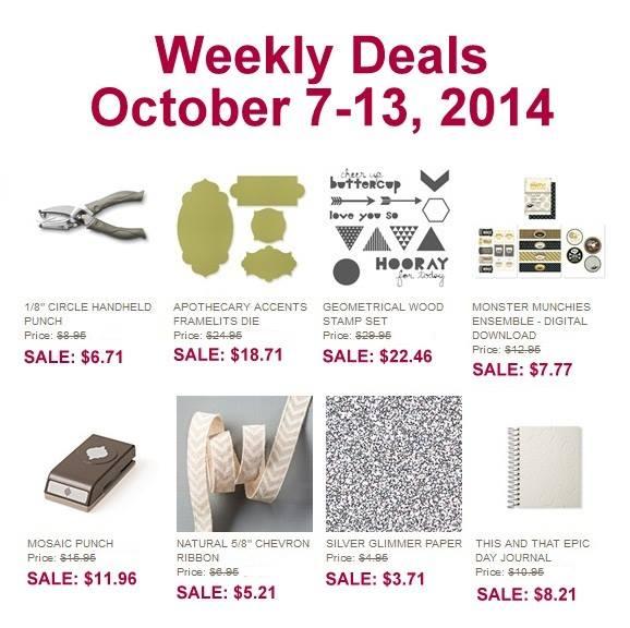 Weekly deals Oct 7 - Oct 13